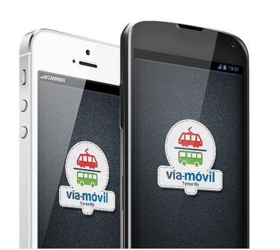 foto dos móviles con Vía-Móvil